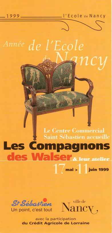 Flyer Ecole de Nancy 1999